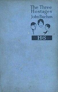 <i>The Three Hostages</i> 1924 novel by John Buchan