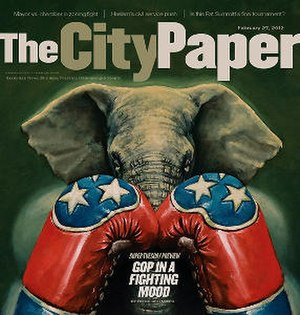 The City Paper - Image: The City Paper (front page)