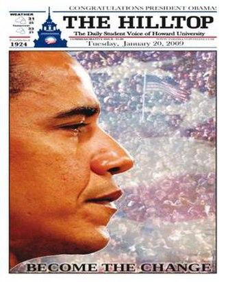 The Hilltop (newspaper) - Image: The Hilltop 2009 01 20