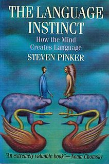 <i>The Language Instinct</i> book by Steven Pinker
