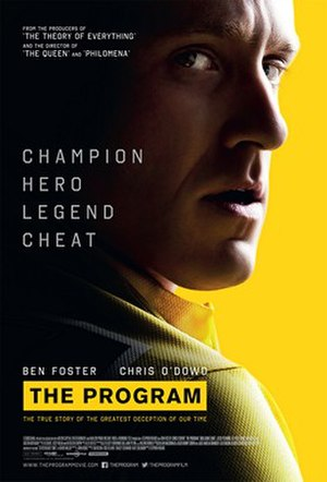 The Program (2015 film) - Theatrical release poster