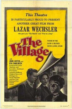 The Village (1953 film) - Image: The Village Film Poster