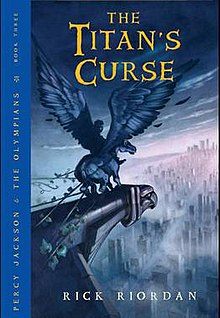 Image result for the titans curse book