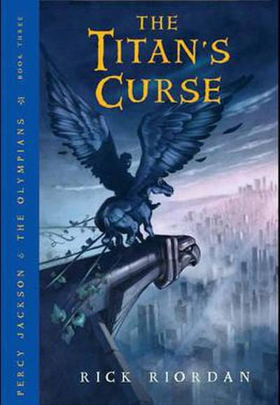 Picture of a book: The Titan's Curse