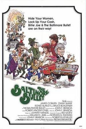 The Baltimore Bullet - original film poster