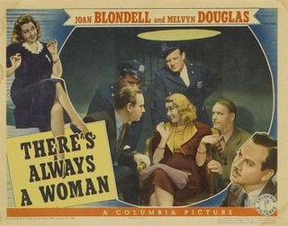 <i>Theres Always a Woman</i> 1938 film by Alexander Hall