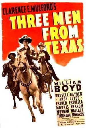 Three Men from Texas - Theatrical release poster