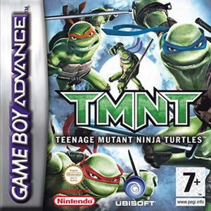 TMNT (Game Boy Advance) - Image: Tmntgba
