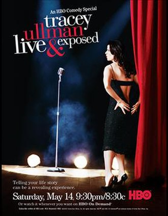 Tracey Ullman: Live and Exposed - Official advertisement