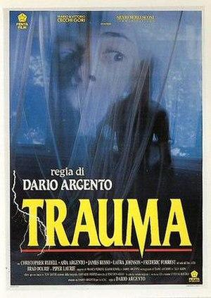 Trauma (1993 film) - Italian theatrical release poster