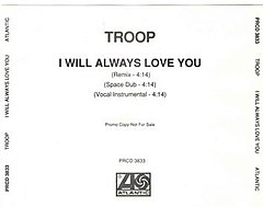 Troop - I Will Always Love You single cover.jpg