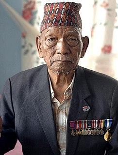 Tul Bahadur Pun Victoria Cross recipient in World War II