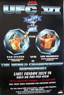 UFC 6 UFC mixed martial arts event in 1995