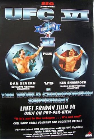 UFC 6 - Image: Ufc 6