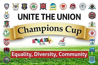 Champions Cup (All-Ireland) Association football competition