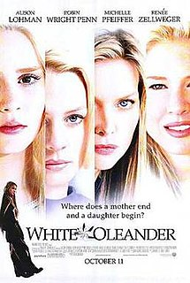 <i>White Oleander</i> (film) 2002 drama film by Peter Kosminsky