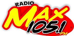XHJF-FM - Image: XHJF Radio Max 105.1 logo
