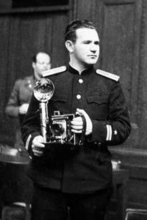 Yevgeny Khaldei - Khaldei in 1946
