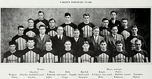 1929 Illinois Fighting Illini football team - Image: 1929 Fighting Illini football team