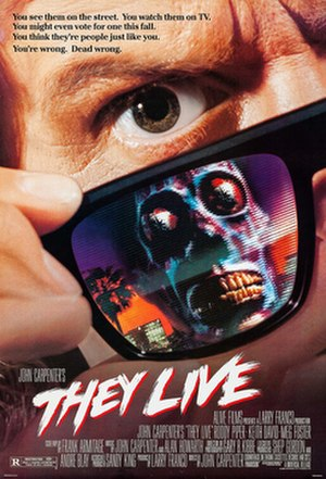 They Live - Theatrical release poster