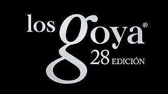 28th Goya Awards - Image: 28th Goya Awards logo