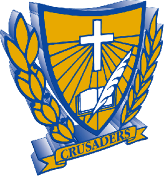 """Cathedral High School (St. Cloud, Minnesota) - The Cathedral """"Crusaders"""" logo"""