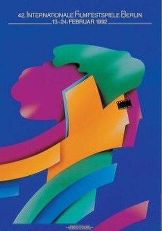42nd Berlin International Film Festival - Festival poster