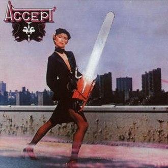 Accept (Accept album) - Image: Accept Accept