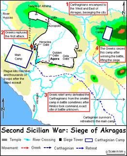 Siege of Akragas (406 BC) siege