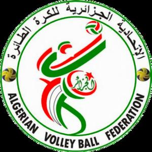 Algeria women's national volleyball team - Image: Algerian VF (logo)