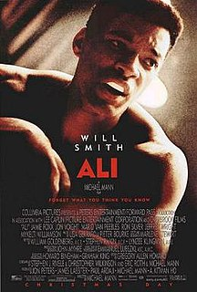 <i>Ali</i> (film) 2001 film directed by Michael Mann