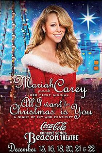 residency by mariah carey all i want for christmas is you a night of joy and festivityjpg - All I Want For Christmas Is You Mariah Carey Lyrics