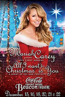 All I Want for Christmas Is You: A Night of Joy and Festivity
