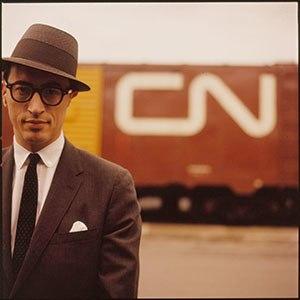 Allan Fleming - Image: Allan Fleming and CN Boxcar 1960