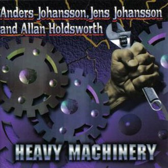 Heavy Machinery (album) - Image: Allan Holdsworth 1996 Heavy Machinery