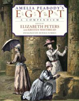 Amelia Peabody's Egypt - First edition cover of Amelia Peabody's Egypt