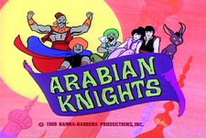 Arabian Knights - title screen