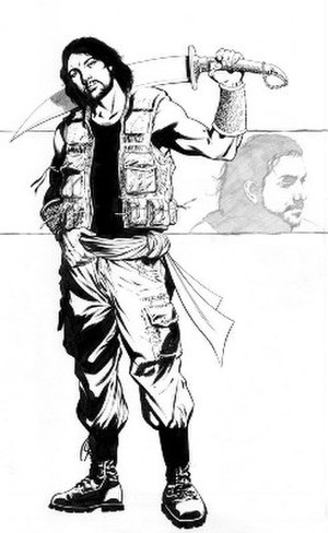 Arabian Knight (comics) - Image: Arabianknightmu 0