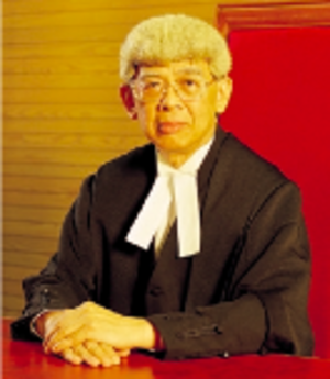 Arthur Leong (judge) - Image: Arthur Leong, Chief Judge of the High Court of Hong Kong (2000 2003)