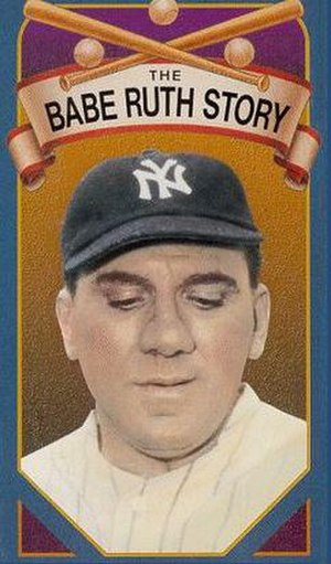 The Babe Ruth Story - Image: Babe Ruth Story (1948 movie)