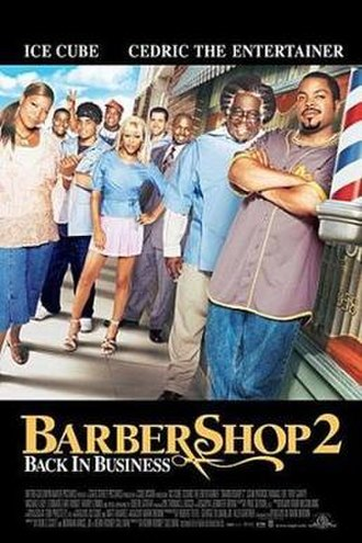 Barbershop 2: Back in Business - Theatrical release poster