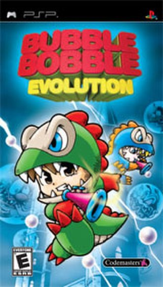 Bubble Bobble Evolution - Image: Bbevolution psp