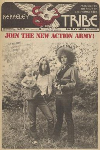 Berkeley Tribe - Image: Berkeley Tribe Aug 15 1969 cover
