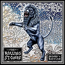 The Rolling Stones Bridges to Babylon album cover