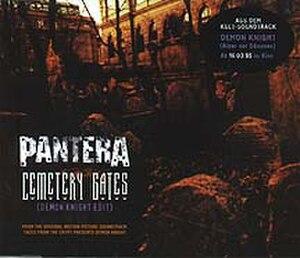Cemetery Gates - Image: Cemetery Gates Pantera