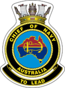 Capo della marina dell'Australia