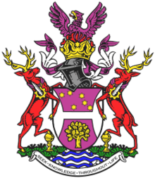 Coat of Arms of the University of Hertfordshire.png