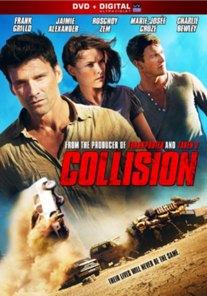 Collision (2013 film) - DVD cover