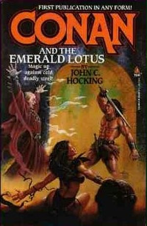Conan and the Emerald Lotus - Cover of first edition