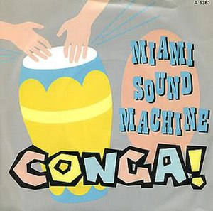 Conga (song) - Image: Conga single